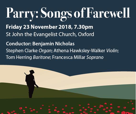 Parry: Songs of farewell   Oxford Bach Choir